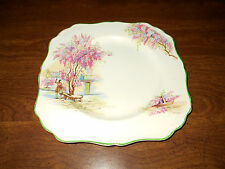 "antique J&G Meaking Lilac Time 8.5"" luncheon plate"