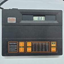 Hanna Instruments HI8521 Mikroprozessor Ph / Mv /℃ Meter Arbeitsmatte Hi 8521