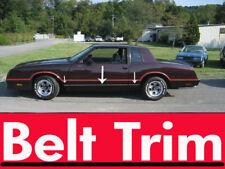 Chevy MONTE CARLO z34 CHROME SIDE BELT TRIM DOOR MOLDING 1981 - 1988