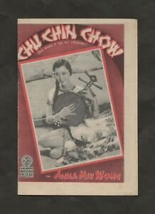 1934 ANNA MAY WONG ORIGINAL CHU CHIN CHOW FOREIGN HERALD