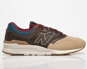 New Balance 997H Men's Brown Tan Low Casual Athletic Lifestyle Sneakers Shoes