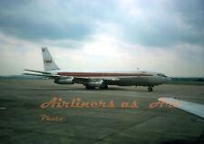 "TWA Boeing 707-131B N756TW at PIT in June 1975 8""x12"" Color Print"