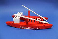 PATTINO MODELLINO di MOSCONE di SALVATAGGIO SPIAGGIA MARE IDEA REGALO SOUVENIR