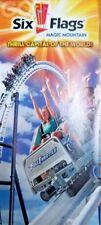 Park Brochure: Six Flags Magic Mountain 2014 - Valencia, CA