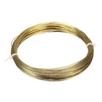 20m Car Vehicle Gold Windscreen Window Glass Cutting Out Removal Braided Wire
