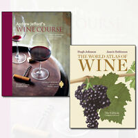 Andrew Jefford's Wine Course & The World Atlas of Wine 2 Books Collection Set