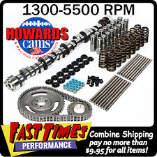"HOWARD'S SBC 305-350 Chevy 270/278 495""/500"" 110° Hyd. Roller Camshaft Cam Kit"