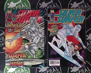 Silver Surfer #125-128 1997 Spider-Man Daredevil Dr Strange the Incredible Hulk!