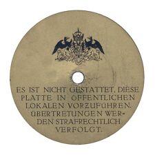 Band 1: Diskographie 78er Schellack-Sprachaufnahmen / spoken word discography