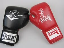 ANTHONY MUNDINE & DANNY GREEN DUAL Hand Signed Boxing Gloves