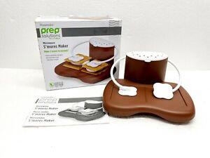 Progressive Prep Solutions Microwave S'mores Maker - Dishwasher Safe - BPA Free