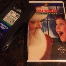 Miracle on 34th Street - VHS Video - 1995 - Richard Attenborough