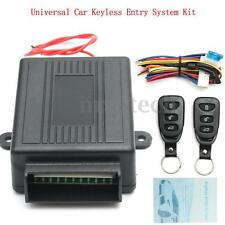 Universal Car Keyless Entry System Central Door Lock Locking Remote Control Kit