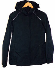 EDDIE BAUER WOMENS HOODED WEATHER WATERPROOF EDGE RAIN JACKET SIZE-MEDIUM