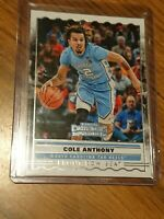 2020 Panini Contenders rookie card Cole Anthony Front Row Seat #SS-10 ROTY?
