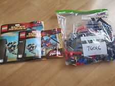 Lego Spiderman 76016 Araña-Helicopter Rescue Super Héroes completa Duende Verde