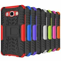 Shockproof Hard Case Rugged Hybrid Armor Stand Cover For Samsung Galaxy J7 2016