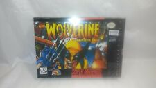 Marvel WOLVERINE Admantium Rage (Super Nintendo) RARE BOX Shrink AUTHENTIC! SNES