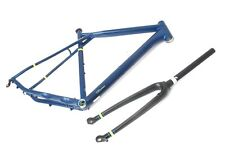 GT GRADE ALLOY X ROAD GRAVEL FRAME 55CM MEDIUM + CARBON FORKS NEW FREE UK P&P
