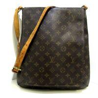 Auth LOUIS VUITTON Musette M51256 Monogram Womens Shoulder Bag