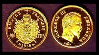 ★★★ MINI DE LA 100 FRANCS 1859 BB ★★