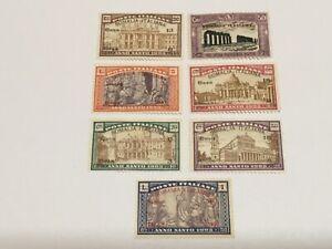 old stamps  ITALIAN SOMALI  x  7