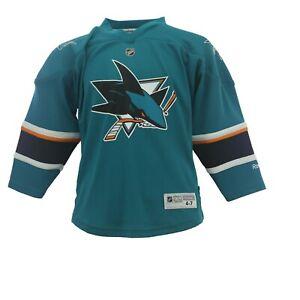 San Jose Sharks Official NHL Reebok Kids Youth Size Joe Pavelski Jersey New Tag