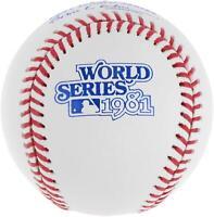 Rawlings 1981 MLB World Series Baseball