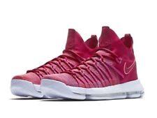 Nike Zoom KD 9 Elite Basketball Shoes RED / PURPLE 878637-666 Size 10