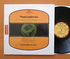 Wanda Landowska Mozart Piano Concerto 36 Haydn Harpsichord Seraphim 60116 NM