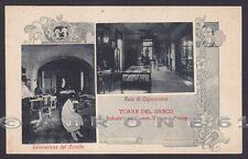 NAPOLI TORRE DEL GRECO 04 INDUSTRIA CORALLI V. PISCOPO - VEDUTINE Cartolina