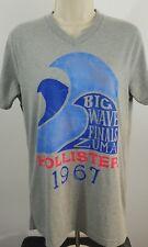 Hollister big wave finals Zuma size medium Grey t-shirt 569
