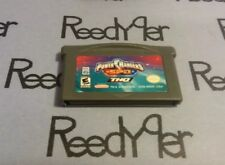 Power Rangers: S.P.D. Nintendo GameBoy Advance game SPD THQ GBA SP Micro DS lite