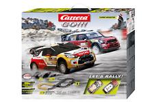 pista let's rally 1:43 track circuit racebahn slotcar auto carrera go 20062433