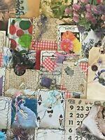 99+ VTG Buttons DIY Cards Snipits Ephemera Paper Lot Labels Junk Journal Art Lot