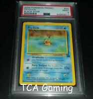PSA 9 MINT Psyduck # 20 WOTC Black Star Promo Pokemon Card