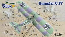Valom 1/144 Model Kit 14416 Rumpler C.IV (2 kits included)