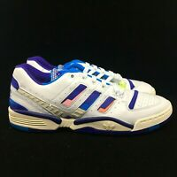 adidas Consortium Torsion Edberg Comp EF7756 Crayon White/Bright Blue Shoes