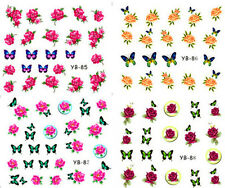 New Manicure Tips For Nail Art Decoration Water Transfer Decals YB