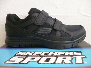 Skechers Sneakers Shoes Trainers Low Shoes Slippers Black 58365 New