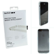 Genuine TECH21 ShockProof Impact Translucent Clear Case Cover For iPhone 5/5S/SE