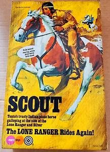 Vintage Marx/Gabriel Lone Ranger SCOUT Action Figure/Horse MISB New Storestock