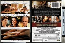 DVD Robert Altman THE COMPANY Neve Campbell Malcolm McDowell WS SE R1 OOP NEW