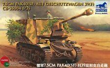 Bronco CB35004 1/35 7.5cm Pak40(SF) Geschutzwagen H39