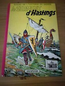 BD Les Timour le serment d'Hastings par Sirius - Dupuis