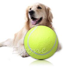"Big Giant Pet Dog Puppy Play Toy Tennis Ball Thrower Chucker Signature Ball 9.5"""