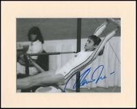 "Nadia Comaneci Olympic Gymnast Original Signed Mounted 10x8"" Autograph Photo COA"