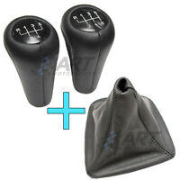 Palanca de cambio + funda de cuero para Bmw E46 sedan Serie 3 shift knob + cover