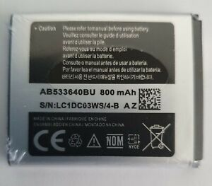 NEW AFTER SALES BATTERY FOR SAMSUNG B3310 C3050 J600 S8300 AND VARIOUS PHONES