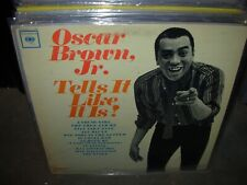 OSCAR BROWN JR tells it like it is ( jazz ) WHITE LABEL PROMO